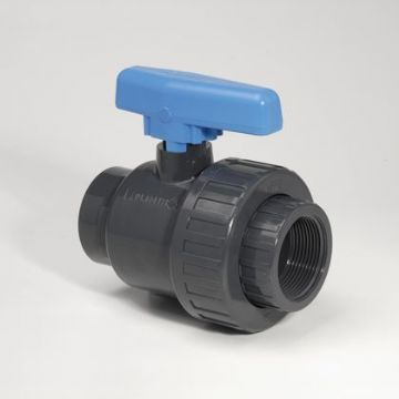 PVC-U Ball Valve SU Econ/BSP Socket EPDM - BSP Thread